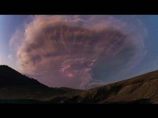 Очевидцы наблюдали за изверж…
