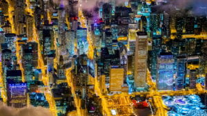 Потрясающие ночные панорамы …