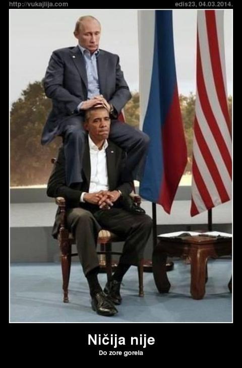 Американские СМИ: Путин навлек позор на Обаму
