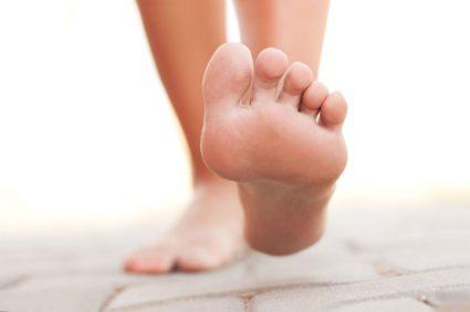Креативный пилинг ног