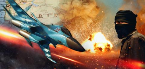 Воздушный рейд в Абу-Кемале:…