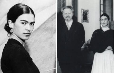 Лев Троцкий и Фрида Кало: По…