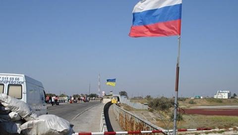 Киев готовит провокации на российско-украинской границе в районе Крыма