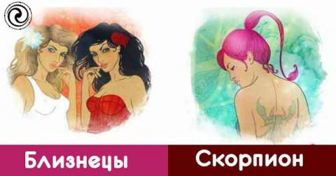 4 зодиакальных пар, которые …
