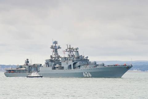 """Корабль """"Вице-адмирал Кулако…"""