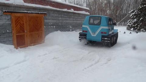 Необычный вездеход из русско…