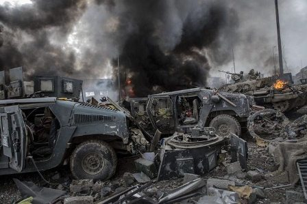 Иракская армия замедлила шту…