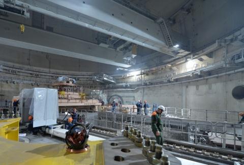На строящемся энергоблоке №4 Ростовской АЭС начался этап горячей обкатки оборудования