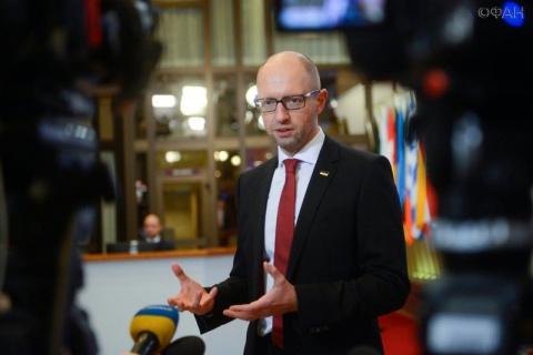 Экс-премьер Украины эмоционально воспринял свой арест