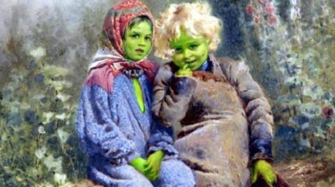 Зелёные дети Вулпита
