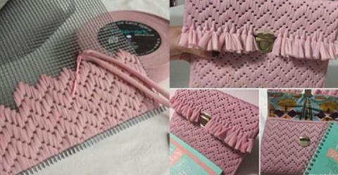 Барджелло — вышивка на сетке…