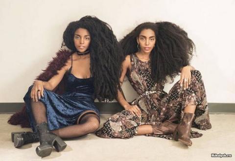 Роскошные волосы сделали сестер-близнецов звездами
