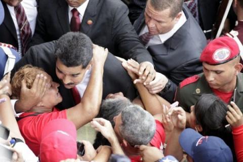 Президент Венесуэлы послал В…
