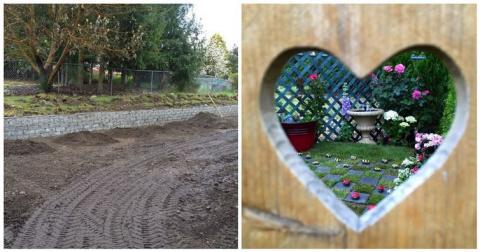 Эта женщина превратила свой уродливый сад в нечто невероятное