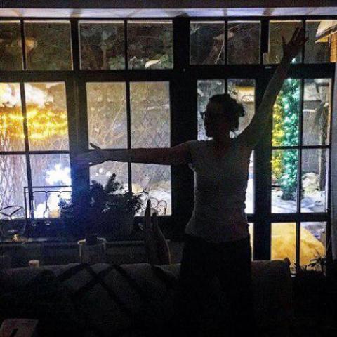 """Ксения Собчак:""""Наверху спит сын,а мы вдвоем сидим в темноте и болтаем"""""""