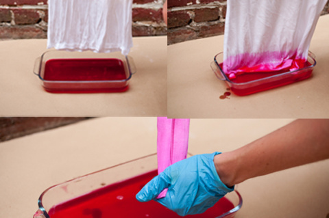 Как покрасить футболку в домашних условиях?