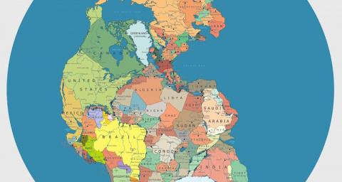 10 карт, меняющих представление о мире