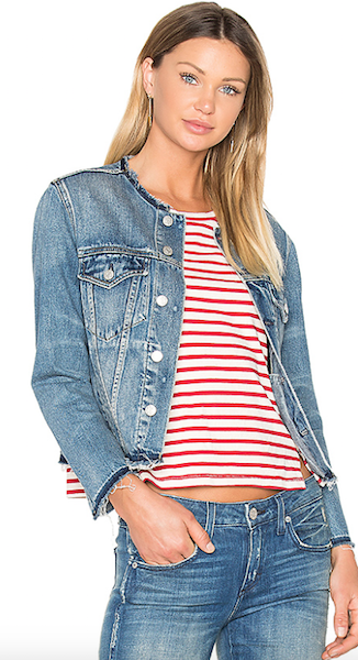 Необычные варианты джинсовой куртки