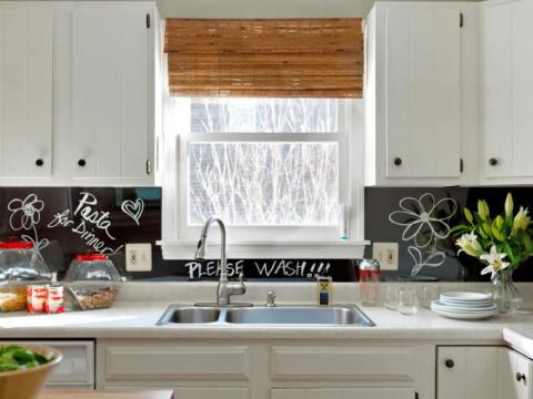 Как обновить кухню быстро и недорого