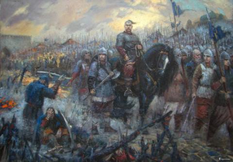 Главные битвы князя Святослава Игоревича