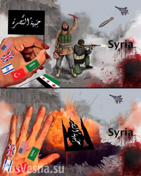 Война в Сирии: Страну рвут н…