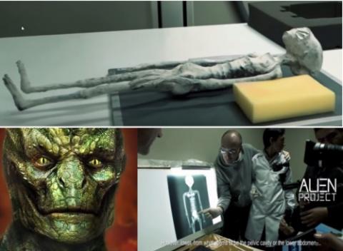 Это исторический момент: найдена мумия чужеродного существа рептилоидного типа!