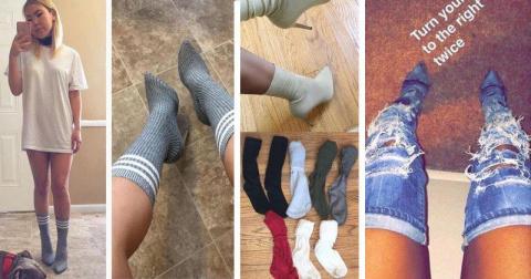 Мир сошел с ума: носки тепер…
