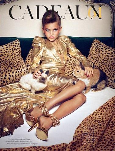 Скандальная модель Тилан Блондо покоряет Instagram