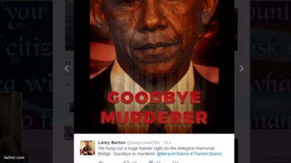"""""""Прощай, убийца"""": Обаму хотят судить и лишить Нобелевской премии мира"""