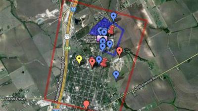 Взрыв завода в Техасе добавили на Google Maps
