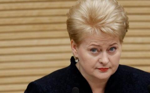 Литва продолжает политически…