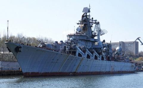 Ракетный крейсер «Украина» р…