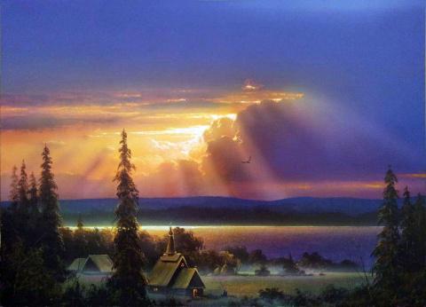 Мастер пейзажной живописи Юшкевич Виктор Николаевич
