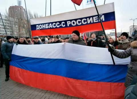 В два раза снизилось число россиян, которые хотели бы присоединения ЛДНР к России