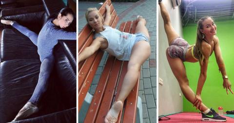 Волочкова и травматологи будут в шоке от этого поста (16 фото + 4 гиф)