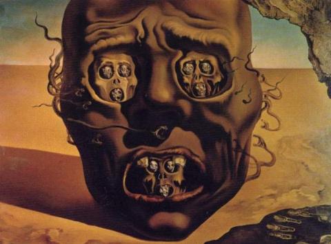 15 знаменитых картин, которые могут сильно напугать