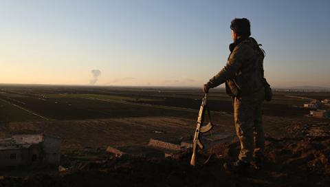 Россия возложила ответственность за кризис в Африне на США