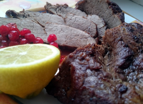 Рецепты для скромных гурманов - стейк от Портоса из свинной шеи