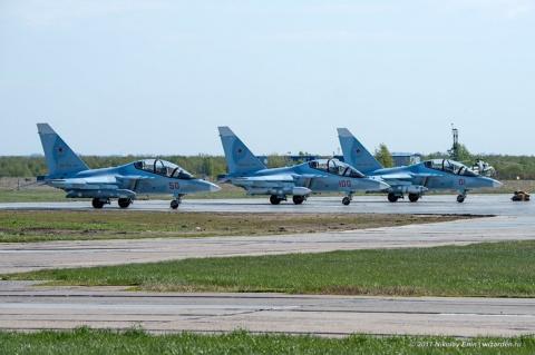 Новые Як-130 ВВС России