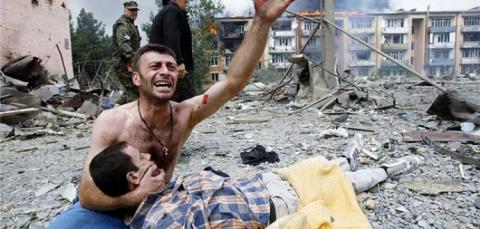 Как российские миротворцы спасали мирных жителей Южной Осетии