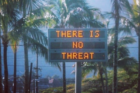 Испугались по настоящему. На Гавайях нажали «не ту кнопку» и напугали жителей ракетной атакой .