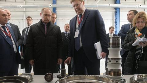 Путин дал старт производству…