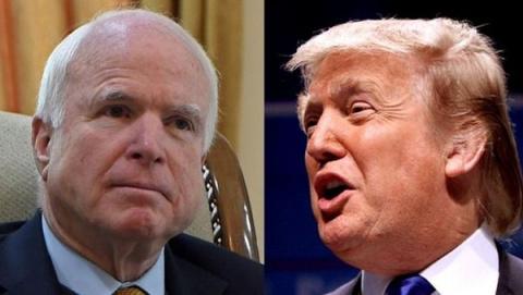 Трамп обрушился на Маккейна: страна увязла в конфликтах из-за таких, как он