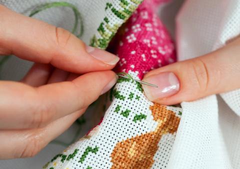 Вышивание крестиком для начинающих. Азы Вышивания