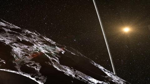 Чем угрожал Земле астероид п…