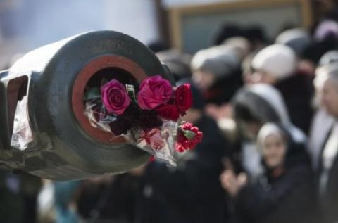 Мемориал в память Героев ополчения ДНР открыт в Донецке