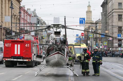Теракт в Петербурге совершил…