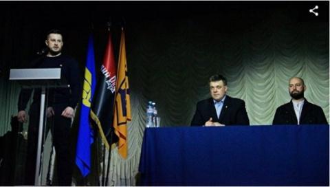 Украинские националисты объявили крестовый поход на Киев