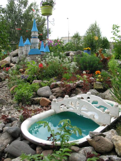 Замок нереализованая мечта детства-стать архитектором или каменщиком!)))