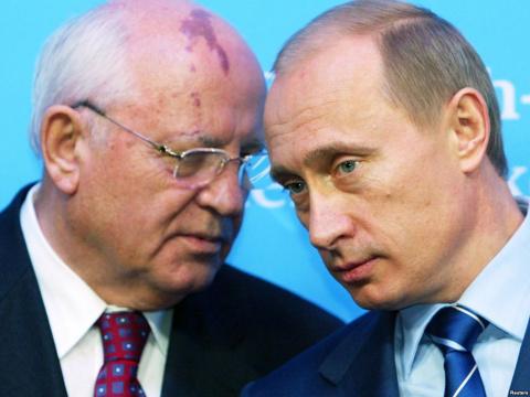 Горбачев о Путине: от стыда …